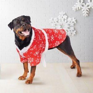 Other - Snowflake Dog Robe